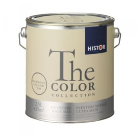 Histor The Color Collection - Harmony Yellow 7508 Kalkmat - 2,5 liter