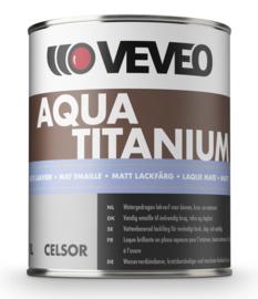 VEVEO Celcor Aqua Titanium Mat - Wit of lichte kleuren - 1 liter