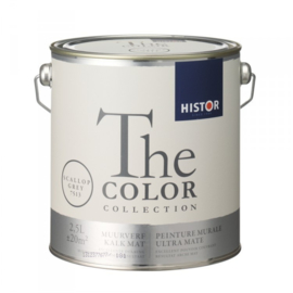 Histor The Color Collection - Scallop Grey 7513 Kalkmat - 2,5 liter