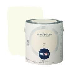 Histor Perfect Finish Muurverf Mat - Ivoor 6553 - 2,5 Liter