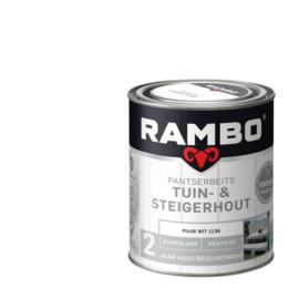 Rambo Tuin & Steigerhout - Puur Wit 1138 - 0,75 liter