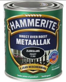 Hammerite Metaallak Zijdeglans - Wit Z210 - 0,75 liter