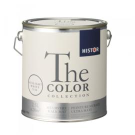 Histor The Color Collection - Sunlight White 7516 Kalkmat - 2,5 liter