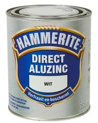 Hammerite Metaallak Direct AluZinc Hoogglans - Standgroen S038 - 0,75 liter