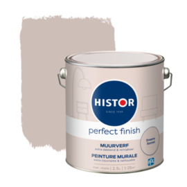 Histor Perfect Finish Muurverf Mat - Dreamy sonnet - 2,5 liter