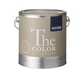 Histor The Color Collection - Clay Brown 7502 Kalkmat - 2,5 liter