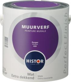 Histor Perfect Finish Muurverf Mat - Purper 6983 - 2,5 Liter