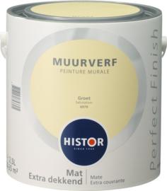 Histor Perfect Finish Muurverf Mat - Groet 6979 - 2,5 Liter