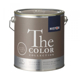 Histor The Color Collection - Hare Brown 7507 Kalkmat - 2,5 liter