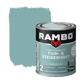 Rambo Tuin & Steigerhout - Wilgengrijs 1143 - 0,75 liter