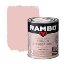 Rambo/Bondex Tuin & Steigerhout - Vintage Roze 1140 - 0,75 liter
