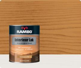 Rambo Interieur Lak Transparant Zijdeglans - Naturel Grenen 766 - 0,75 liter