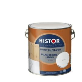 Histor Houten Vloer Zijdeglans - RAL 9010 - 0,75 liter