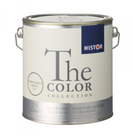Histor The Color Collection - Throughout Green 7517 Kalkmat - 2,5 liter