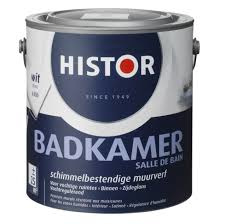 Histor Badkamer Schimmelbestendige Muurverf Zijdeglans - Tin 6928 - 1 liter