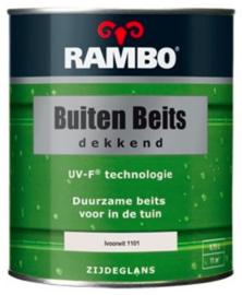 Rambo Buitenbeits Dekkend Zijdeglans - Ivoorwit 1101 - 0,75 liter