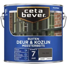 Cetabever Deur & Kozijn Meesterbeits Dekkend Zijdeglans - RAL 7030 - 0,75 liter
