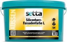 Setta Siliconharz-Fassadenfarbe L - Wit of Lichte Kleuren - 12,5 liter