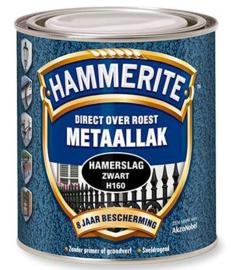 Hammerite Metaallak Hamerslag - Donker blauw H128 - 0,75 liter
