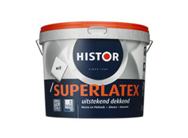Histor Super Latex - Wit - 5 liter