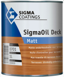 SigmaOil Deck Matt - Base 1701 - 1 liter