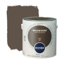 Histor Perfect Finish Muurverf Mat - Cacao 6472 - 2,5 Liter