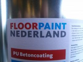 PU Betoncoating - Rood - 20 liter
