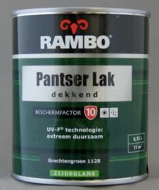 Rambo Pantserlak Dekkend BF 10 Zijdeglans - Ivoorwit 1101 - 0,75 liter