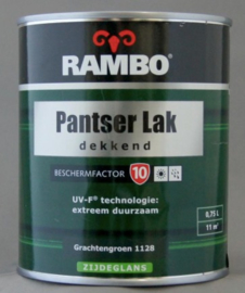 Rambo Pantserlak Dekkend BF 10 Hoogglans - Cremewit 1110 - 0,75 liter