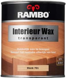 Rambo Interieur Wax Transparant - Blank 701 - 0,75 liter