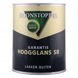 Boonstoppel Garantie Hoogglans SB - 1 liter - alle kleuren leverbaar