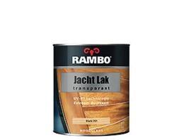 Rambo Jachtlak Transparant Hoogglans - Blank - 0,25 liter