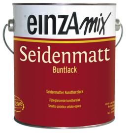 einzA Seidenmatt Buntlack - Alle kleuren - 0,5 liter