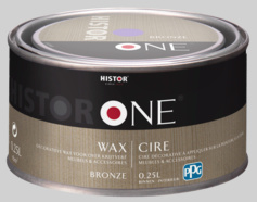 Histor One Wax - Wit - 0,25 liter
