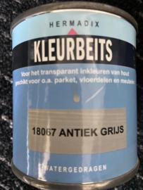 Hermadix Kleurbeits - 18067 Antiek grijs - 0,25 liter