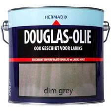 Hermadix Douglas-olie - Dim grey - 0,75 liter
