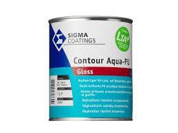 Sigma Contour Aqua PU-Gloss - Wit - 1 liter