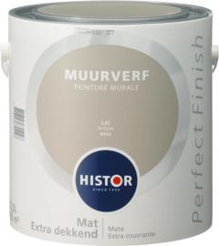 Histor Perfect Finish Muurverf Mat - Lei 6943 - 2,5 Liter