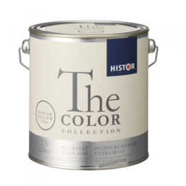 Histor The Color Collection - Dough Yellow 7504 Kalkmat - 2,5 liter