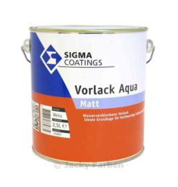 Sigma Vorlack Aqua Matt - Wit - 2,5 liter