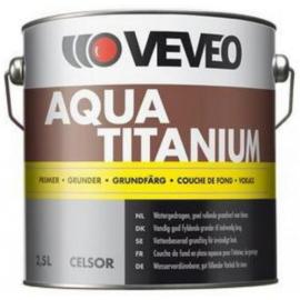 VEVEO Aqua Titanium Primer - Wit of Lichte Kleuren - 1 liter