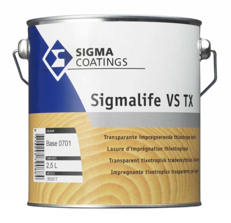 Sigmalife VS TX - Palisander - 2 maal 5 liter - IMPREGNERENDE EDELBEITS