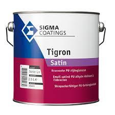 Sigma Tigron Soft Satin - Wit - 2,5 liter