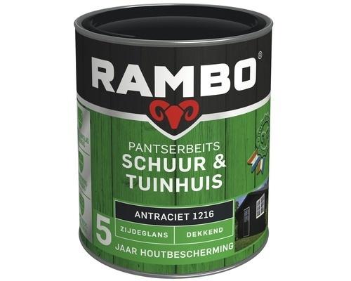 Rambo Pantserbeits Schuur & Tuinhuis Transparant Zijdeglans - Loofgroen - 0,75 liter