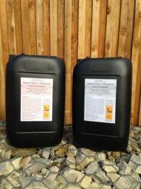 Belgische Creosoot Olie - 2 maal 20 liter - Impregnerend Donker Bruin