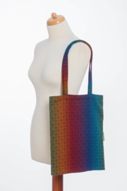Shopping Bag - Big Love Rainbow Dark
