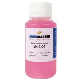 Aqua Master Tools ijkvloeistof pH 4.01 100ml