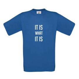 Heren T-Shirt eigen opdruk
