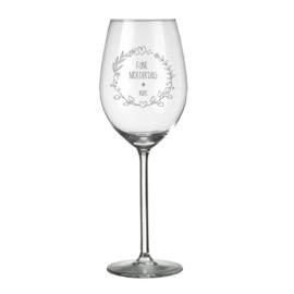 Wijnglas - Moederdag
