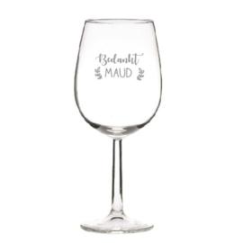 Wijnglas - Wit
